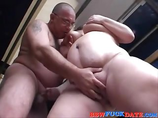 Fleshy THICK 18Yo Schoolgirl Pleasuring  Old Man