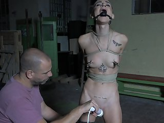 Severe punishment for obedient Adelle Unicorn