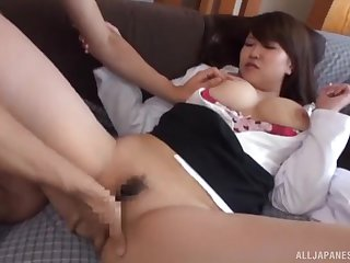Teen Asian with big tits, insane home doggy porn