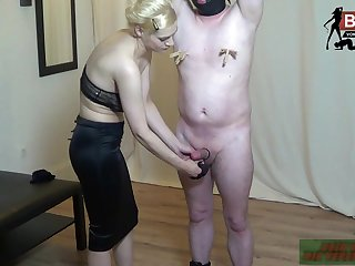german femdom blonde nasty domina