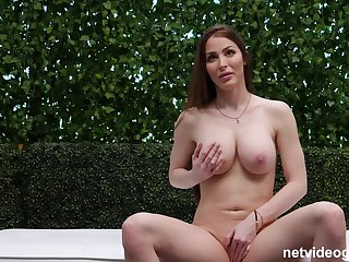 Busty girl offers pure POV sex and nudity