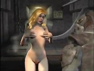 Bizarre cartoon fantasy. Creeps, monsters, freaky babes, giant dicks.