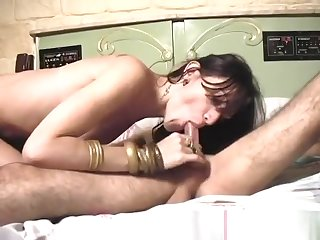Seductive tgirl Millie Barebacked By Bald twink