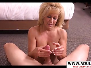 Lovely Mommy Candy Blowing Good