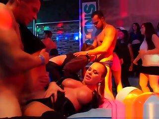 Party sluts get fucked