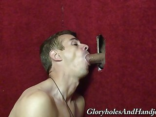 Glory hole gay pleasure for Chris Dano and Mark Galifione