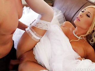 Marvelous, towheaded bride, Tasha Reign can not get married unless she smashes her paramour 1 more time