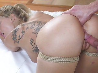 Ardent sexy nympho Zoey Monroe wanna get her holes fucked doggy hard