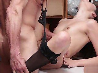 LP officer fucks petite thiefs wet pussy