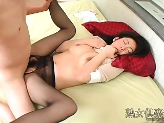 Nylon stockings fetish pantyhose massage nylons