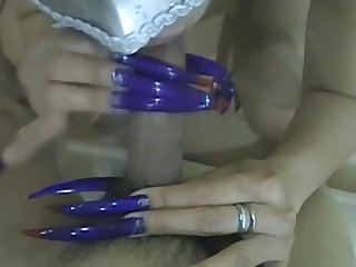 Goddess Cath Extreme Blue Claws & Toenails