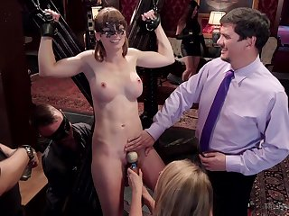 A slave role and hard sex are the favorite games for Alina West