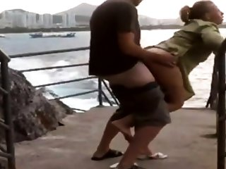 Girl fuck outdoor