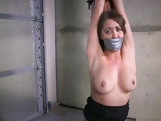 hot chick tied up