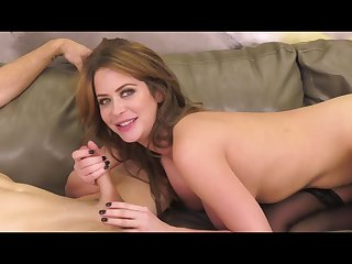 Exciting Mommy Emily Addison Gets Pussy Railed
