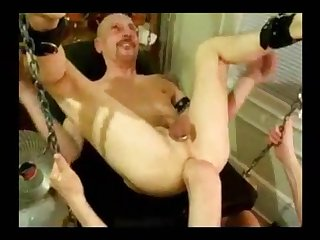 Hardcore anal masturbation is what bisexual pervert is ready for
