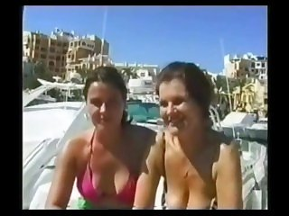 British Extreme - Kristina Jeffery And Her Stepmother Piss Outdoors
