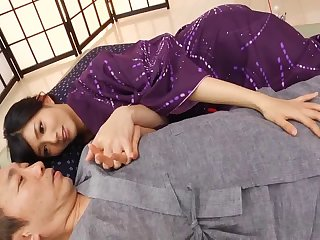 Adorable Japanese babe Nozomi Aso fucked and gets cum on face