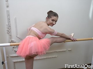 Ballerina sticks it in the ass for a complete POV shag