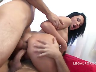 Eva Popperz In Anal Threesome With Dp And