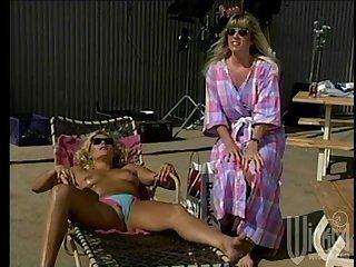 Lesbian sex in outdoors between Debi Diamond and Stacy Nichols