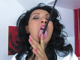 Homemade video of Danica Collins fingering her fuck hole. HD