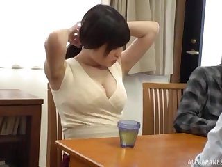 Horny Japanese chick enjoys getting fucked good from behind