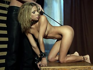Submissive blonde gets her dose in limitless fantasy