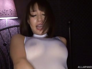 Ayami Shunka loves getting her mouth filled with cum
